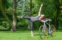 Immer in Balance – Fahrrad-Yoga