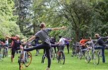 Fahrrad-Yoga